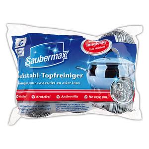 Saubermax Edelstahl-Topfreiniger