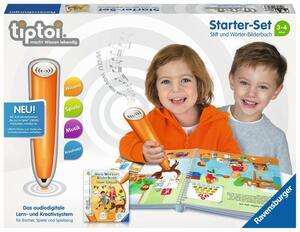 Ravensburger tiptoi Starter Set Wörter-Bilderbuch