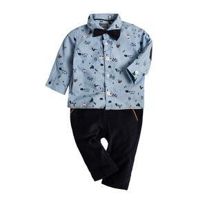 Baby Set Hose, Hemd & Fliege für Jungen