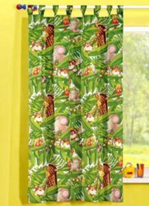 Vorhang Dschungel, grün, 175 x 135 cm, (1 Schal)