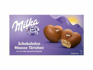 Milka Schokoladen Mousse Törtchen