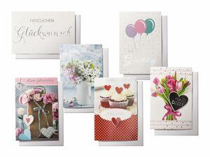 Melinera® Glückwunschkarten-Set