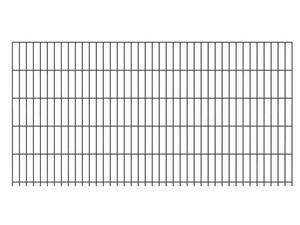 GAH ALBERTS Doppelstabmattenzaun-Anbauset, Länge 2 m