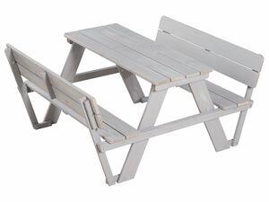 "roba Kindersitzgruppe ""Picknick for 4"" Outdoor Deluxe mit Rückenlehnen"