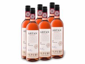 6 x 0,75-l-Flasche Weinpaket Artan Rosé Limestone Coast Reserve trocken, Roséwein
