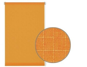 Gardinia Easyfix Rollo Uni ,  orange, 90 x 210 cm