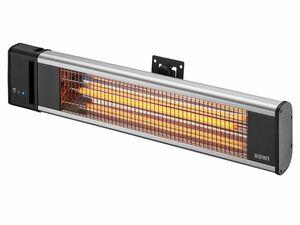ROWI Infrarot-Wandheizstrahler Basic mit Fernbedienung HIW 1800/1 F