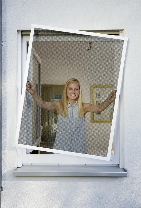 Schellenberg Fliegenschutzfenster | B-Ware - der Artikel ist neu - Verpackung geöffnet