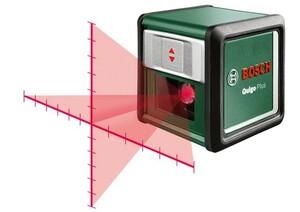 Bosch Kreuzlinien-Laser Quigo Plus | B-Ware - der Artikel ist neu - Siegel beschädigt