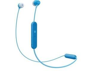 Sony Ohrhörer WIC300 ,  blau