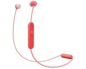 Sony Ohrhörer WIC300 ,  rot