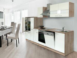 respekta Küchenblock 310 cm Eiche sägerau