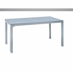 "Haveson              AusziehTisch ""Toledo"", 160-260x75x90 cm, Aluminium, graphit"