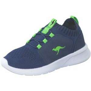 KangaROOS KF Cuff Sneaker Mädchen|Jungen blau