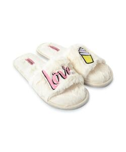 Hunkemöller Slippers Icecream Weiß