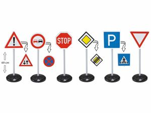 BIG Verkehrszeichen Mega Set