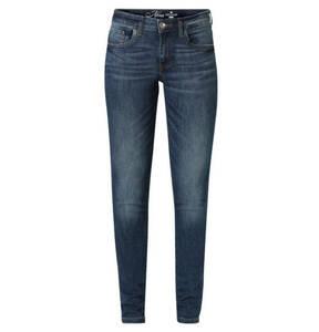 "TOM TAILOR             Jeans ""Alexa"", Skinny Fit, Sitzfalten-Effekt"