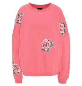 Pepe Jeans             Sweatshirt, Baumwolle, Blumen-Stickerei
