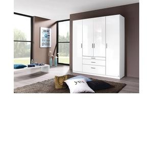 self Kleiderschrank DARIA 181 x 197 x 54 cm in Weiß