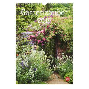 """Bildkalender """"Gartenzauber"""" für 2019"""