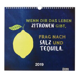 """Bildkalender """"Typo"""" für 2019"""