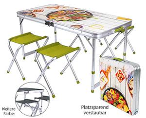 ADVENTURIDGE®  Campingklappmöbel-Set