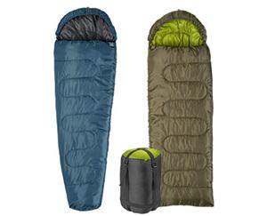 ADVENTURIDGE®  Mumien- oder Decken-Schlafsack