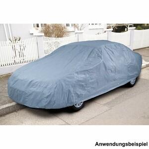 PKW Ganzgarage Vlies Gr.M blau 165x119x432cm wetterfest atmungsaktiv Autoschutz