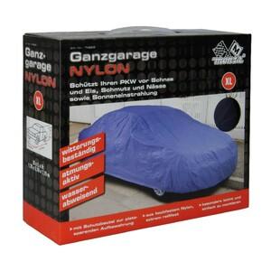 PKW Ganzgarage Nylon Gr.XL blau 178x119x510cm reißfest atmungsaktiv Autoschutz