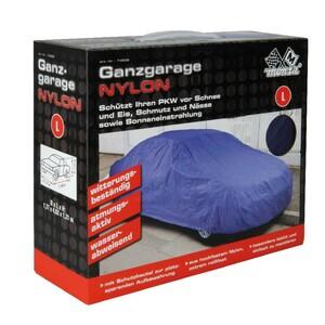 PKW Ganzgarage Nylon Gr.L blau 177x121x482cm reißfest atmungsaktiv Autoschutz