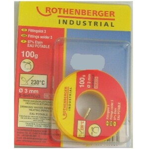 Rothenberger Fittingslot 3 100 g Ø 3 mm