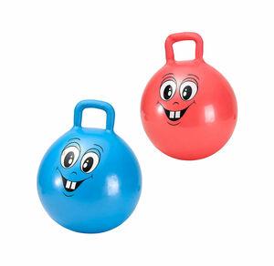 Playfun Hüpfball mit lustigem Gesicht, Ø ca. 45cm
