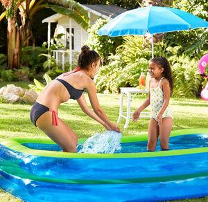 Wehncke Familien-Pool zum Aufblasen, ca. 200x150x50cm