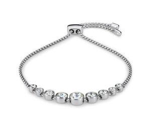 Armband, verziert mit Swarovski® Kristallen