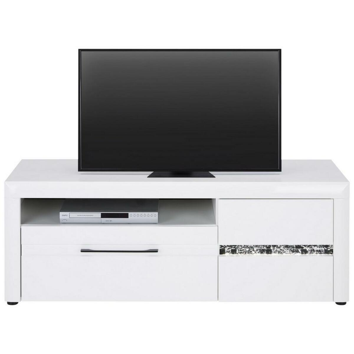 Bild 1 von TV-Element in Weiß Hochglanz
