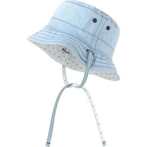Baby Mütze mit Bindebändern