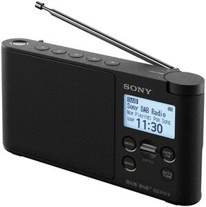 Sony XDR-S41 Portables Radio schwarz