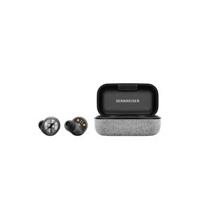 Sennheiser MOMENTUM True Wireless schwarz Kabellose, dynamische Bluetooth®-Ohrkanalhörer, Touch-Steuer