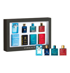 VERSACE                Homme                 Miniaturen-Set 4 x 5 ml
