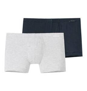 """SCHIESSER             Pants """"Essentials"""", 2er-Pack, Logo am Bund"""