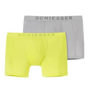 """SCHIESSER             Cyclist-Shorts """"Xpress"""", Logoschriftzug, seitliche Mesh-Einsätze"""