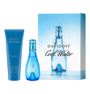 Davidoff                Cool Water Woman                 Duft-Set 2-teilig
