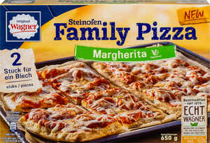 ORIGINAL WAGNER  							Steinofen Family Pizza