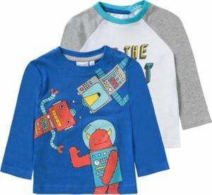 Baby Doppelpack Langarmshirts von TVMANIA Gr. 92 Jungen Kleinkinder