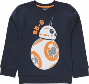 Star Wars Sweatshirt BB-8 Gr. 116/122 Jungen Kinder