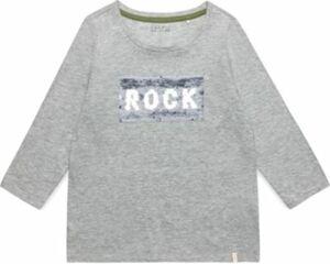 Langarmshirt mit Wendepailletten Gr. 152/158 Mädchen Kinder