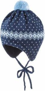 Baby Mütze zum Binden Gr. 45 Jungen Baby