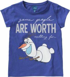 Disney Die Eiskönigin T-Shirt OLAF Gr. 140/146 Mädchen Kinder