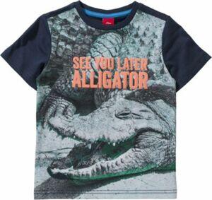 T-Shirt REG, Krokodil Gr. 92/98 Jungen Kleinkinder