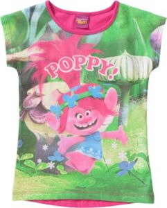 Trolls T-Shirt Gr. 98 Mädchen Kleinkinder